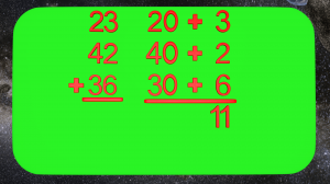 Adding Multiple Digit Numbers
