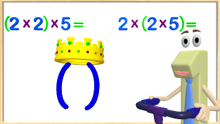 Associative Property of Multiplication Video