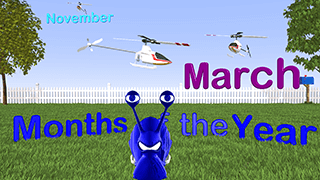 Months of the Calendar Year Video