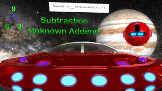Subtraction Unknown Addends 1st Grade
